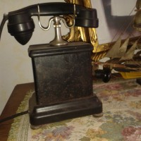 Antico Telefono F.A.T.M.E. Roma a Manovella Senza Numeri
