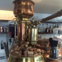 Caffettiera o macchina del caffè d'epoca - primi '900 - firmata Stefano Ugolini